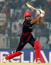 Irfan Ahmed blasted three sixes and three fours in his 28-ball 34, Bangladesh v Hong Kong, World T20, Group A, Chittagong, March 20, 2014