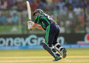 Andrew Poynter flicks the ball off his toes, Ireland v Netherlands, World T20, First Round Group B, Sylhet, March 21, 2014