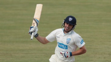 Moises Henriques toasts his century