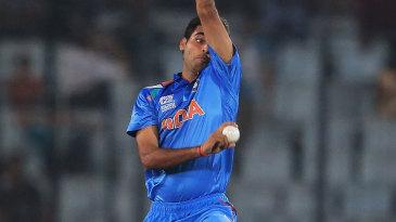 Bhuvneshwar Kumar bowled an outstanding opening spell