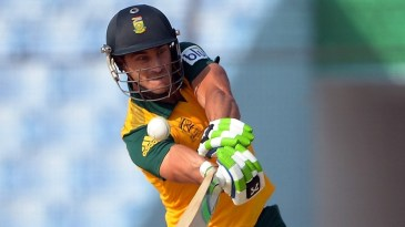 Faf du Plessis on the attack