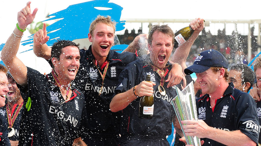 England win the World Twenty20