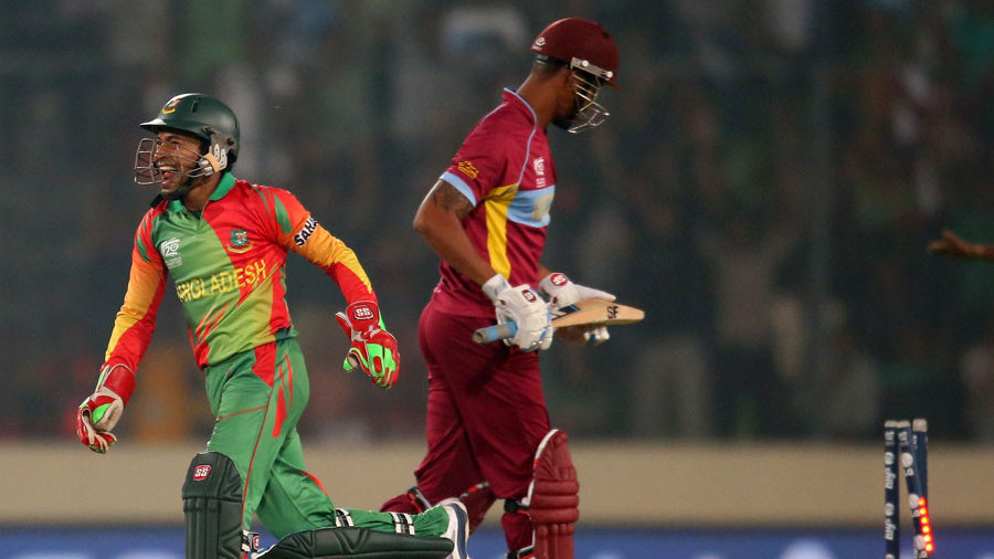 Bangladesh vs West Indies, T20 World Cup Highlights – 2014 – 25th March