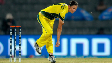 Julie Hunter picked up two wickets