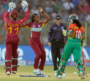 Shaquana Quintyne picked up three wickets for five runs, Bangladesh v West Indies, Women's World T20, Group B, Sylhet, March 26, 2014