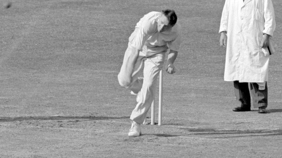 Bob Appleyard took nine wickets in the match