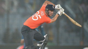Alex Hales went past fifty in 38 balls