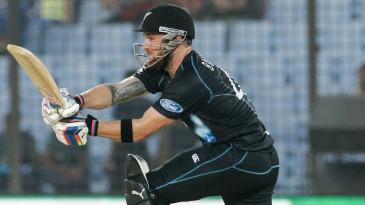 Brendon McCullum became the first batsman to cross 2000 T20I runs