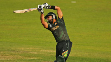 Ahmed Shehzad  struck his fastest T20 fifty