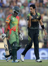 Umar Gul removed Tamim Iqbal for 16, Bangladesh v Pakistan, World Twenty20, Group 2, Mirpur, March 30, 2014