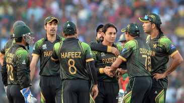 Saeed Ajmal picked up two wickets