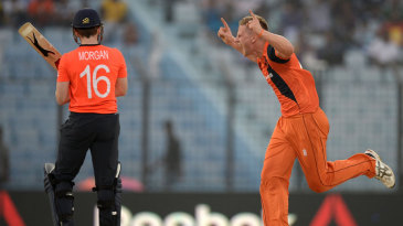 Timm van der Gugten signals the end of Eoin Morgan