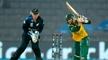 Mignon du Preez drives on her way to a half-century
