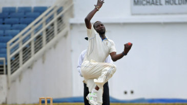 Sulieman Benn in his delivery stride