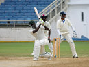 Jamie Merchant hits out during his 37, Jamaica v Barbados, Regional Four Day Competition, Kingston, March 31, 2014