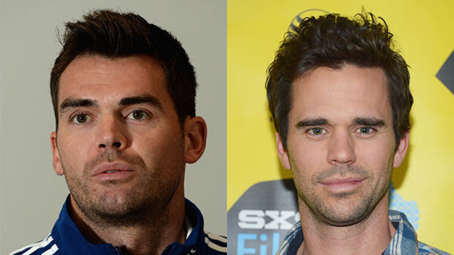 Image result for James Anderson and Hollywood actor David Walton
