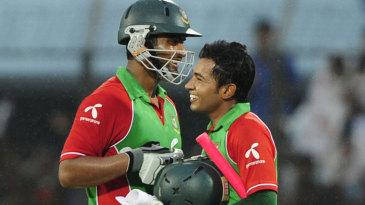 Tamim Iqbal and Mushfiqur Rahim