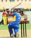 DB Ravi Teja smashed 101 off 68 balls in Hyderabad's win over Kerala, Hyderabad v Kerala, Syed Mushtaq Ali Trophy, Visakhapatnam, April 1, 2014