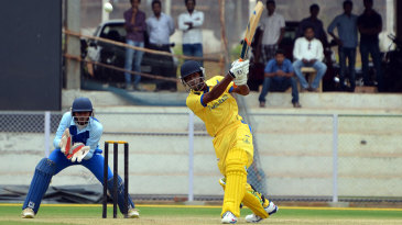 B Aparajith scored 41 and put on 97 for the second wicket with M Vijay