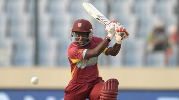 Deandra Dottin top scored with 40 but couldn't take West Indies over the line