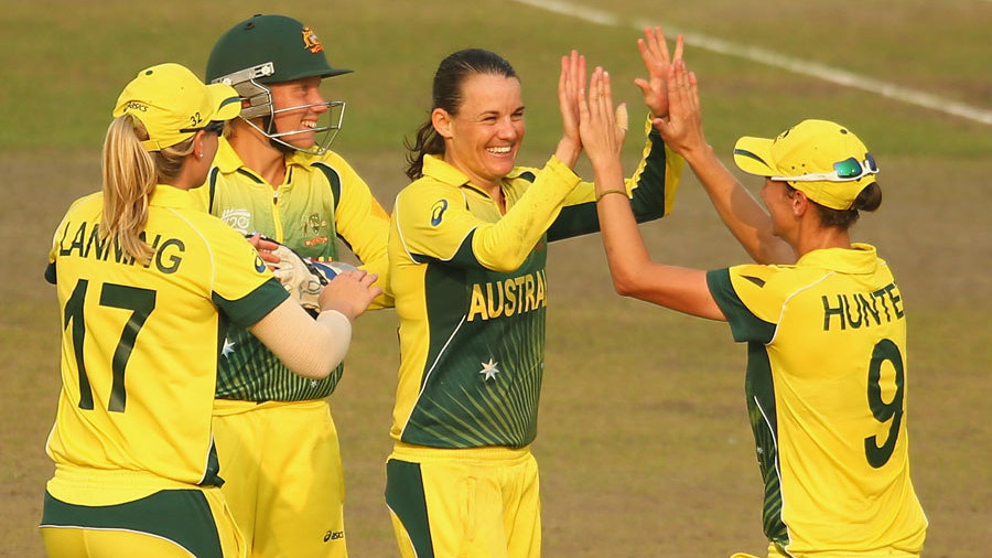 Erin Osborne picked up a wicket and took a crucial catch
