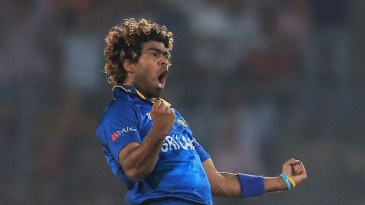 Lasith Malinga dismissed the openers in one over
