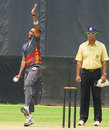 Harshad Gadekar took 4 for 19, Andhra v Goa, Syed Mushtaq Ali Trophy, South Zone, Vizianagaram, April 3, 2014