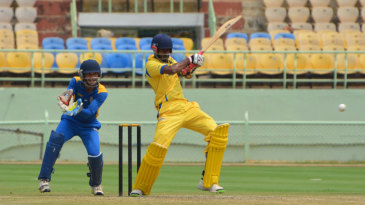 B Indrajith top-scored with 37