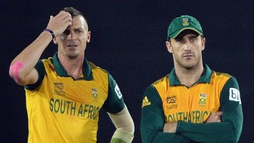 Dale Steyn and Faf du Plessis ran out of ideas