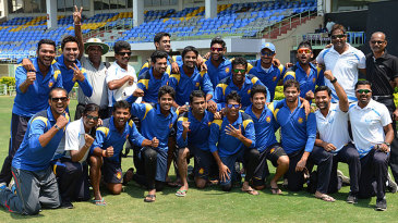 Goa celebrate after topping the South Zone table with five straight wins