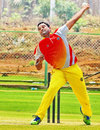 Kerala's Padmanabhan Prasanth took 3 for 11, Andhra v Kerala, Syed Mushtaq Ali Trophy, Vizianagaram, April 5, 2014