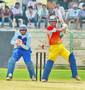 Kerala's Vishnu Vinod plays through the off side, Andhra v Kerala, Syed Mushtaq Ali Trophy, Vizianagaram, April 5, 2014