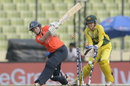 Tammy Beaumont is bowled, Australia v England, Women's World T20, final, April 6, 2014