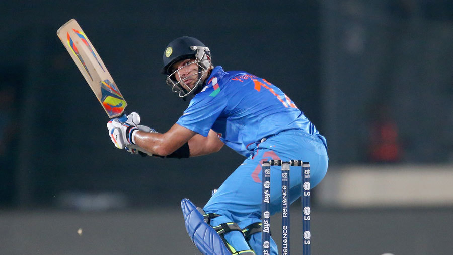 Yuvraj Singh struggled to find his touch