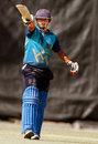 Haryana's Avi Barot made a match-winning half-century, Gujarat v Haryana, Syed Mushtaq Ali Trophy, Rajkot, April 9, 2014