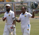 Tanveer Haider celebrates his second first-class century, Sylhet Division v Rangpur Division, National cricket league, 2nd day, Fatullah, April 13, 2014