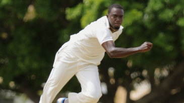 Jerome Taylor hurls in a delivery