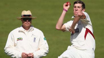 Craig Overton took three wickets