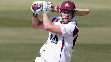 David Willey tried to give Northants a lower-order boost