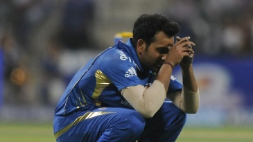 Rohit Sharma is disappointed after a missed run-out
