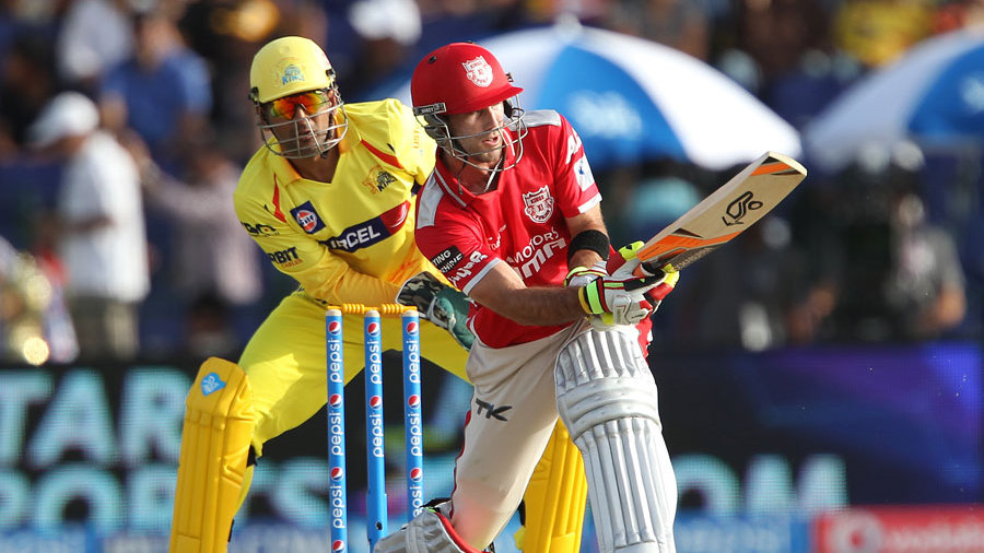 Glenn Maxwell played some attractive shots