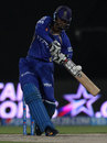 Abhishek Nayar goes on the attack, Kings XI Punjab v Rajasthan Royals, IPL 2014, Sharjah, April 20, 2014
