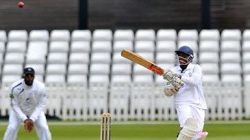 Shivnarine Chanderpaul took his overnight score on to 82