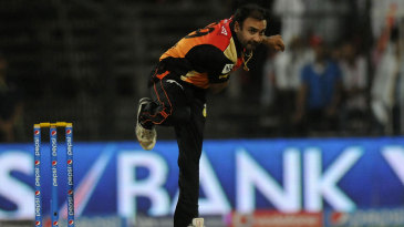 Amit Mishra was expensive in his four overs