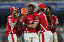 L Balaji finished with 4 for 13, Kings XI Punjab v Sunrisers Hyderabad, IPL 2014, Sharjah, April 22, 2014