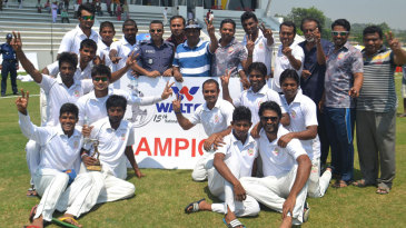 Dhaka Division won the National Cricket League
