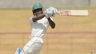 Jermaine Blackwood missed his maiden century by six runs