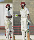 Devon Smith and Tyrone Theophile shared an unbeaten opening stand of 113, Windward Islands v Jamaica, Regional Four Day Competition, final, 2nd day, Gros Islet, April 27, 2014