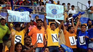 Sanju Samson had his own set of fans in Abu Dhabi