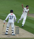 Rory Hamilton-Brown was one of five wickets for Lewis Gregory, Sussex v Somerset, County Championship, Division One, Hove, 3rd day, April 29, 2014